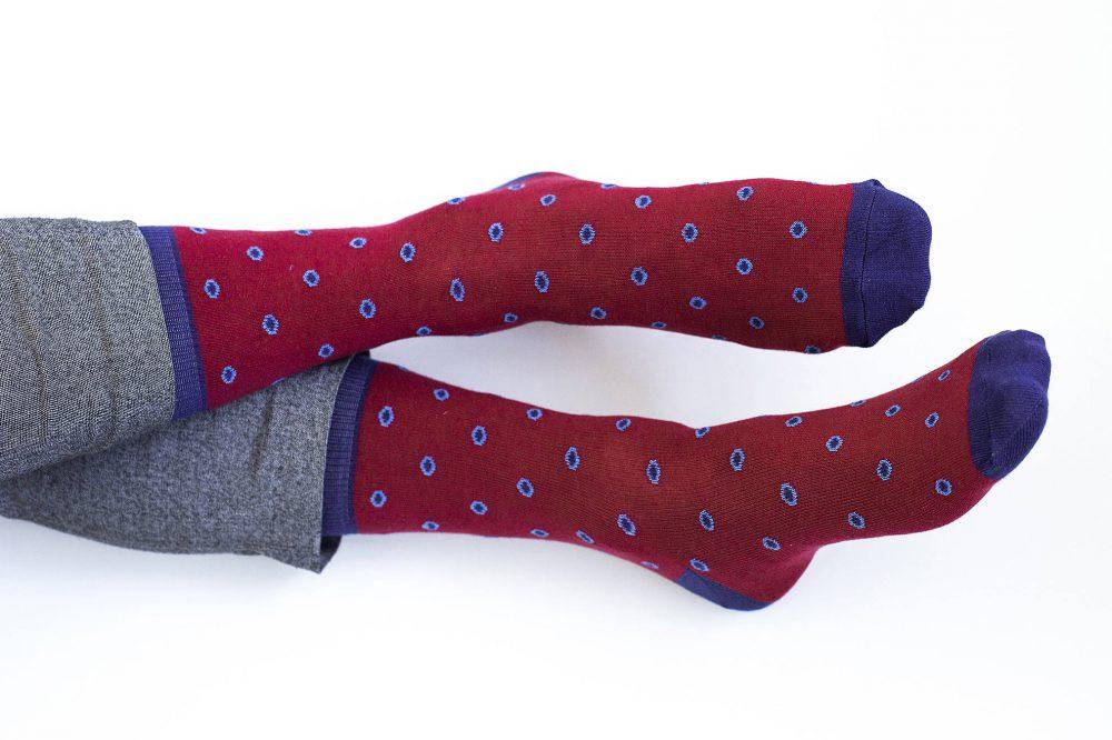 Raudonos kojinės