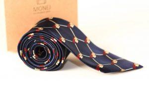 Šilkinių kaklaraiščių komplektas